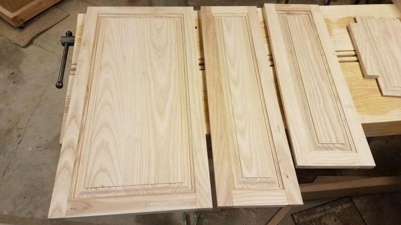 Jamey Cyphert Ash Kitchen Cabinet Doors